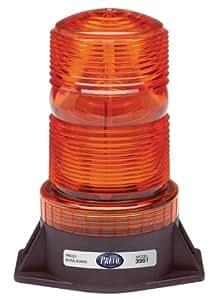 Single Flash Warehouse Forklift Strobe Light Amber 3951