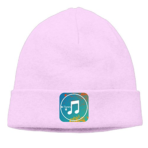 ewied-menswomens-itunes-patch-beanie-mountaineeringpink-cap-for-autumn-and-winter