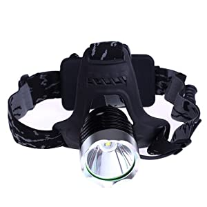 [Official Shop] BXT Ultra Bright Waterproof CREE LED Headlight 10W 750 Lumens 4800mAh... by BXT