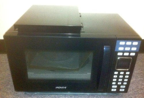 Advent Mw912B Black Built-In Microwave Oven (Without Trim Kit)