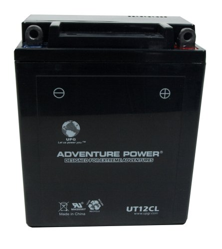 UPG UT12CL Adventure Power Power Sport AGM Series Sealed AGM Battery