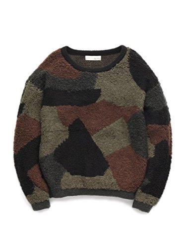 Lily Brown(リリーブラウン)ループカラーブロックプル KKI F : 服&ファッション小物通販 | Amazon.co.jp