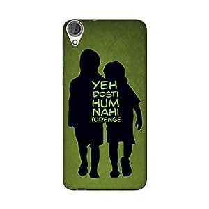 Abhivyakti Love Dosti Hard Back Case Cover For HTC Desire 820Q