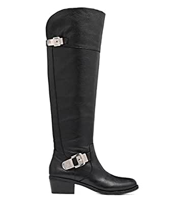 Vince Camuto Bocca Over the Knee Riding Boot Leather Black