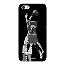 buy Homesogood Michael Jordan Playing Basketball Multicolor Case For Iphone 5 / 5S (Back Cover)