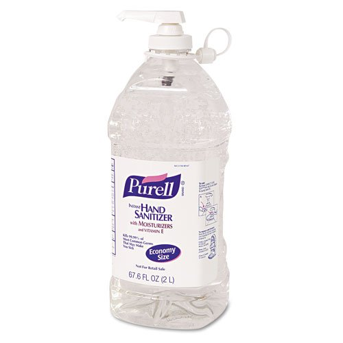 Purell Instant Hand Sanitizer Economy Size 2000Ml Refill Bottle W/ Pump front-903607