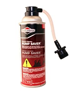 Briggs & Stratton 6151 Pressure Washer Pump Saver Anti-Freeze and Lubricant Formula, 10.7-Ounce