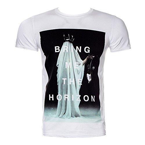 T Shirt Cloaked Bring Me The Horizon (Bianco) - Large