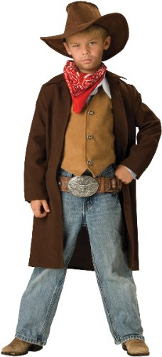 Rawhide Renegade Child Costume, Brown, X-Small 4 [Office Product]