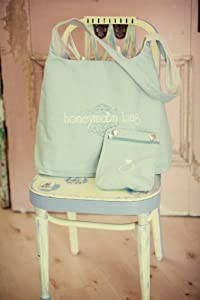 Just Married Beach Bag, White
