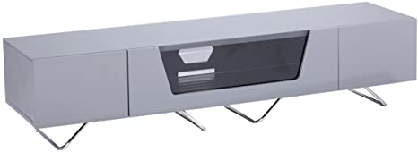 Alphason Chromium Grey TV Stand for up to 75 inch TVs