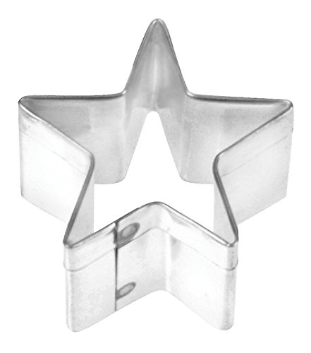 Fox Run Tinplated Steel Star Cookie Cutter, 2