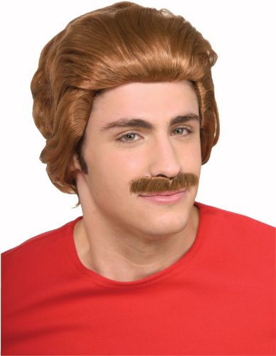 Nacho Libre Costume Wig & Moustache Kit