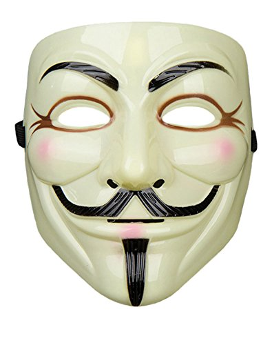 Halloween Mask V for Vendetta masquerade scary guy fawkes masks mardi gras cosplay party