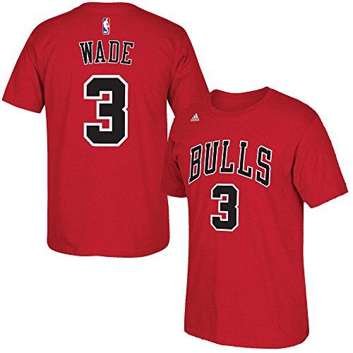 Dwyane Wade Chicago Bulls Basketball Jersey T-Shirt