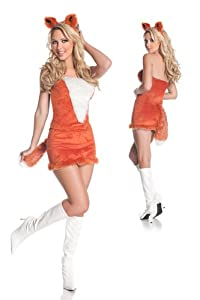 Mystery House Costumes Red Fox, Orange, Large