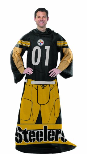 Nfl Pittsburgh Steelers Full Body Player Comfy Throw