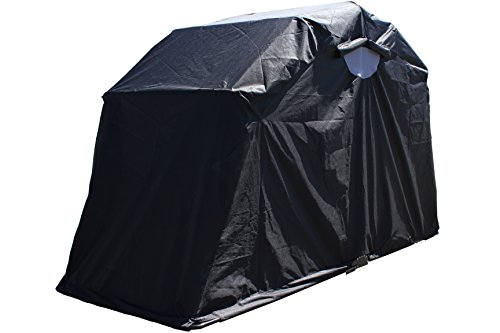 G3Elite Retractable Motorcycle Cover Waterproof Outdoor Garage Storage Shelter Tent Drive In Enclosure, for Bobber Style Sport Bike, Cycle, Bicycle or Moped (Motorcycle Storage Tent compare prices)