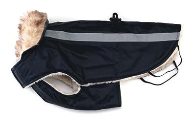"Dog Jacket, Fur Dog Jacket - [3 Colours] - 28"" - Waterproof"
