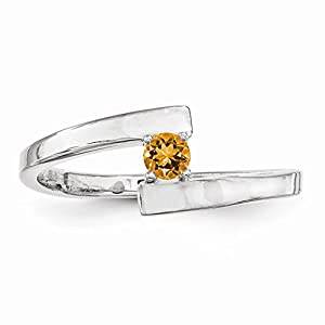 14k white gold white gold polished 1 mothers ring
