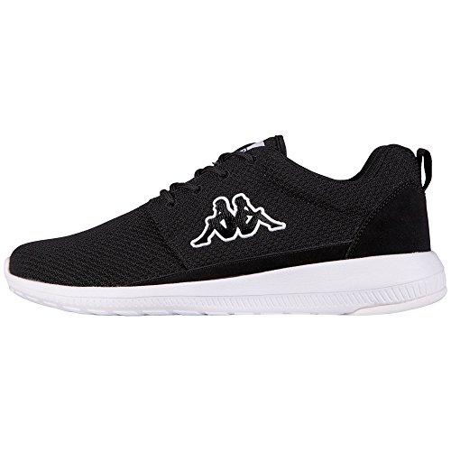 Kappa SPEED II, Unisex-Erwachsene Sneakers, Schwarz (1110 black/white), 42 EU (8 Erwachsene UK) thumbnail