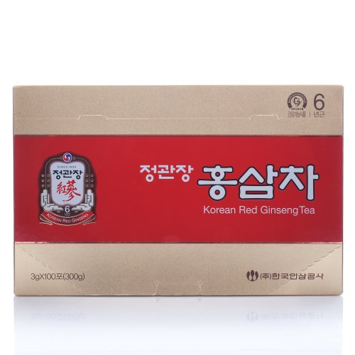 KGC Ginseng Tea Extract, 100 Count (Red Ginseng Extract Tea compare prices)