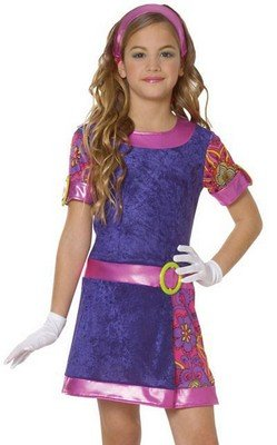 Kids Costumes Mod Girl Retro Costume