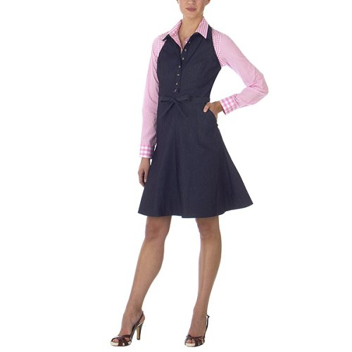 Isaac Mizrahi for Target® Denim Halter Dress - Chesterfield Navy
