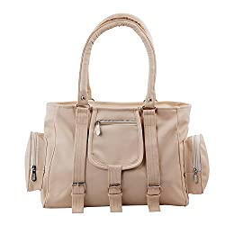 Relevant Yield Women's Shoulder Bag Gold (CREAM-0013)