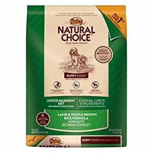 Natural Choice Limited Ingredient Diet Lamb & Whole Brown Rice Formula Puppy Food, 15 lbs.