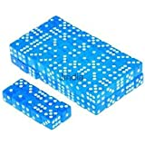 Alcoa Prime 100x Blue Translucent 16mm Six Sided Spot Dice D&D RPG Games PARTY SUPPLY