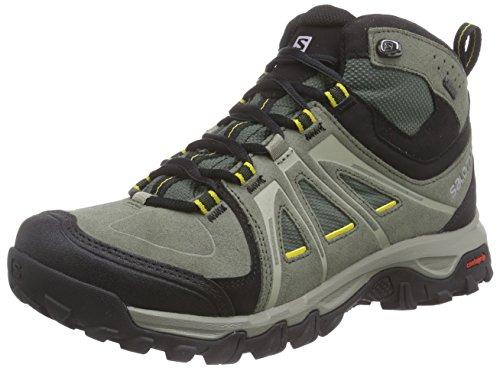 SalomonEvasion Mid GTX - Scarpe da trekking e da passeggiata Uomo , Grigio (Grau (Tempest/Night Forest/Ray)), 42 2/3