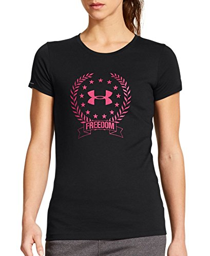 Under Armour Women'S Ua Freedom Logo T-Shirt Medium Black