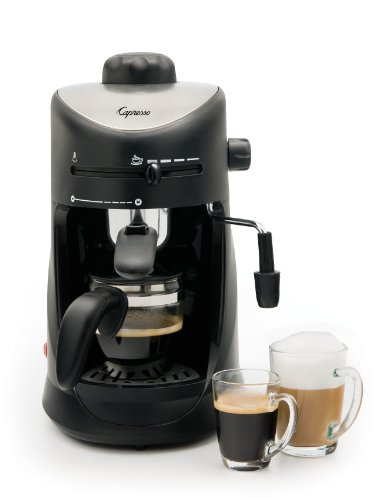 Capresso 303.01 4-Cup Espresso And Cappuccino Machine back-585998