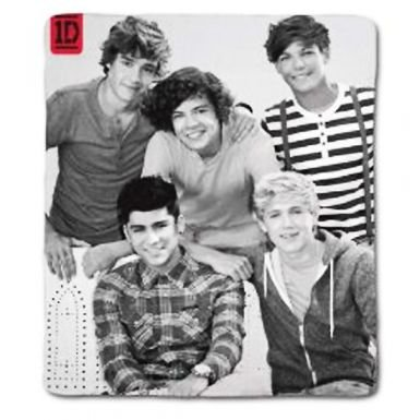 One Direction Fleece Blanket - The New 1D