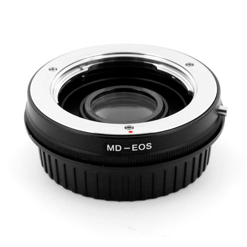 Minolta MD lens to Canon EOS EF body mount adapter