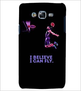 PrintDhaba QUOTE D-7032 Back Case Cover for SAMSUNG GALAXY J7 (Multi-Coloured)