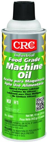 CRC 03081 General Purpose Food Grade Machine Oil Spray, (Net Weight: 11 oz.) 16oz Aerosol
