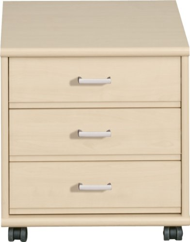 CS-Schmalmbel-1043-Rollcontainer-43-Soft-Plus-46-x-48-x-54-cm-ahorn