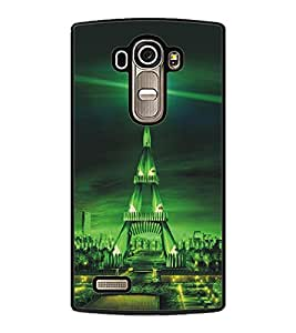 PrintDhaba Tower D-5421 Back Case Cover for LG G4 (Multi-Coloured)