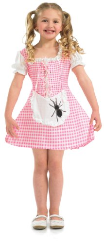 Girls Little Miss Muffet Fancy Dress Costume Age 4-6 Years