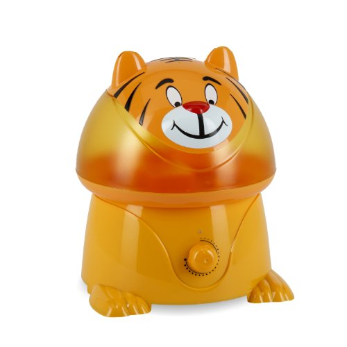 Crane Adorable Ultrasonic Cool Mist Humidifier with 2.1 Gallon Output per Day - Tiger