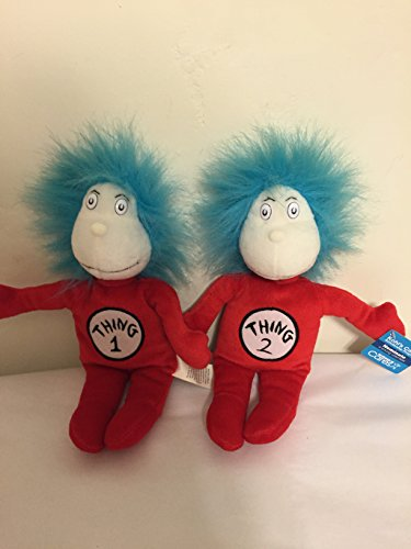 Dr Seuss Cat In The Hat Plush Thing 1 And Thing 2 Dolls From Kohl S