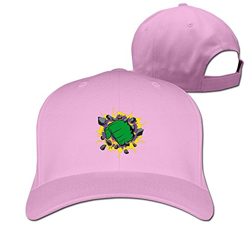 fashion-adult-the-fist-of-green-giant-travel-cap-hats-ash-pink