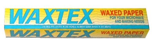 Image: Waxtex Wax Paper Roll - Wrap sandwiches, desserts, popcorn balls and caramels