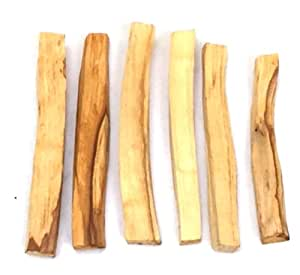 New Age Smudges and Herbs Palo Santo Incense Sticks, 6 Pack