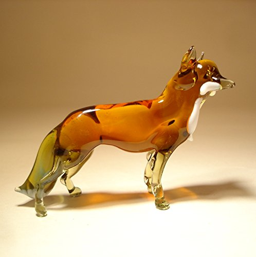 Glass Fox Figurine