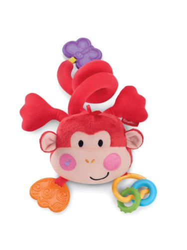 Fisher-Price Discover 'n Grow Musical Monkey Stroller Toy