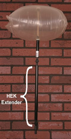 "Great Features Of Chimney Balloon® Valve/handle Extension 16"" (For Use with Any Size Chimney P..."