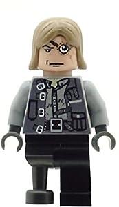Penzora Custom Printed Lego Minifigure Harry Potter Professor Mad Eye Moody